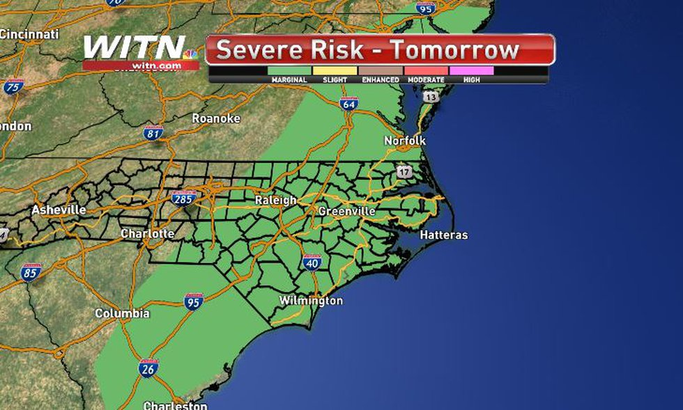 More storms to develop on Friday