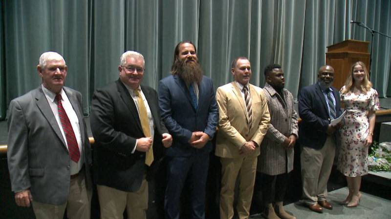 Rampants honor former athletes, coaches past and present into athletic hall of fame