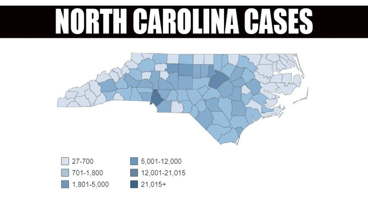 NC case map