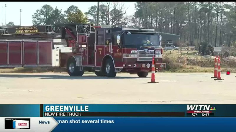 Greenville Fire Rescue gets new tiller fire truck preparing for firefighting in growing city