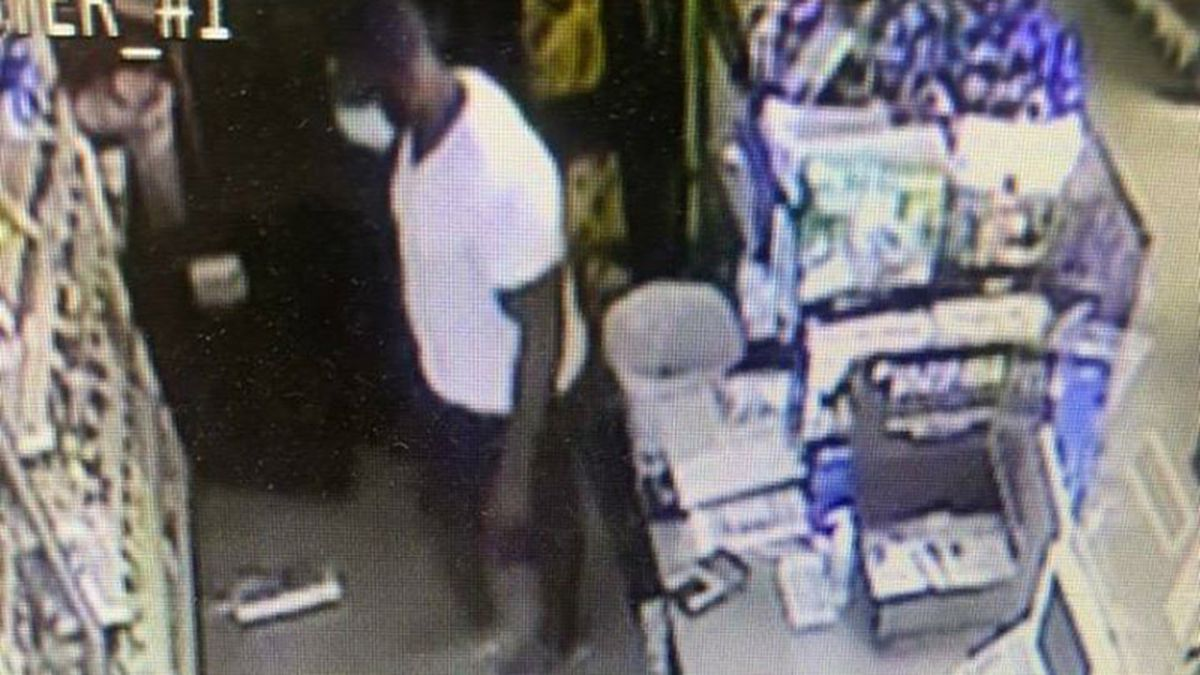 The Dollar General in Princeville was robbed Tuesday morning.