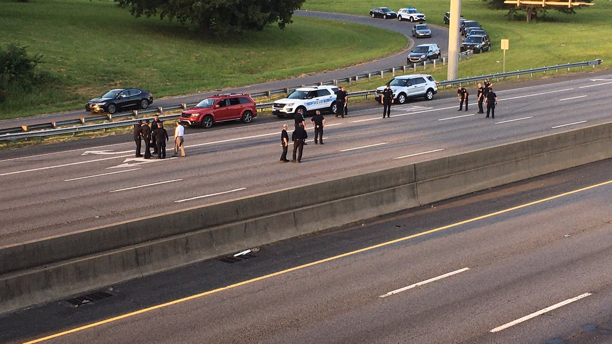 Officers are investigating a homicide that took place on I-85 southbound.