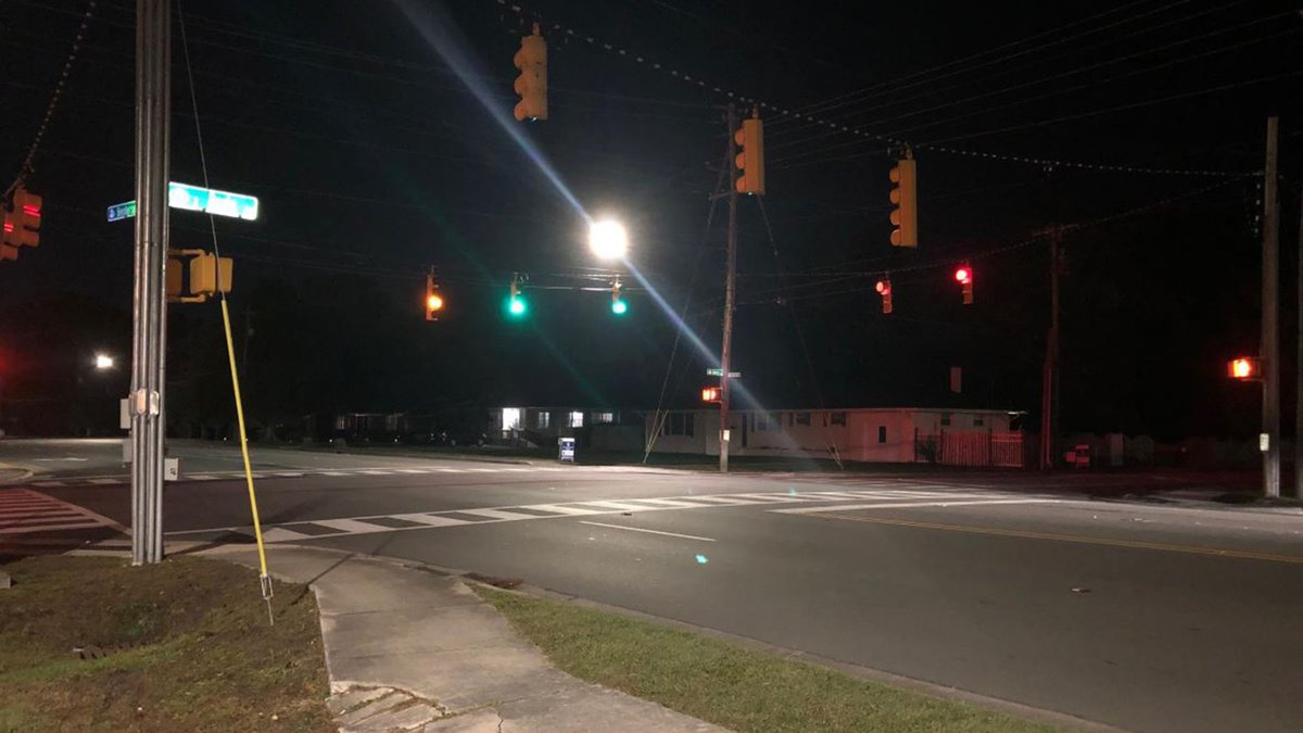 The accident happened at this Jacksonville intersection.