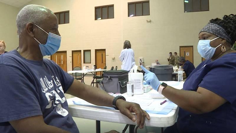 Pitt County hosts walk-in vaccine clinic