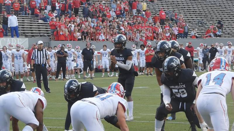 Havelock vs. Charlotte Catholic - 3A State Title Game