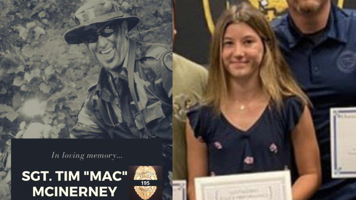 Sgt. Tim McInerney & Sydney McInerney