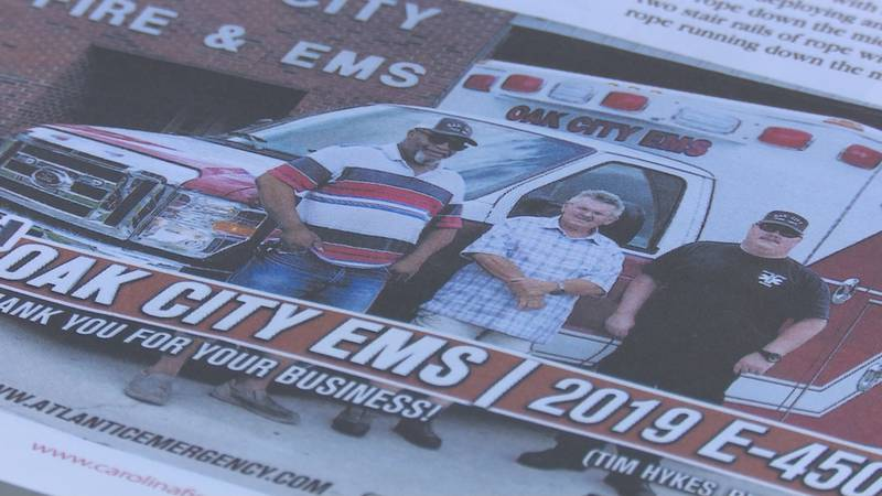 Oak City Fire and EMS lost Lt. Willie Bunch (left) and former mayor William Stalls (middle) to...