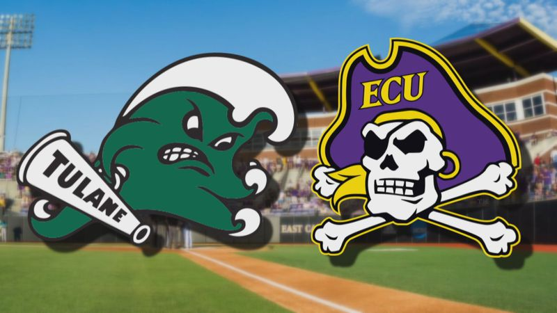 Tulane at ECU Baseball