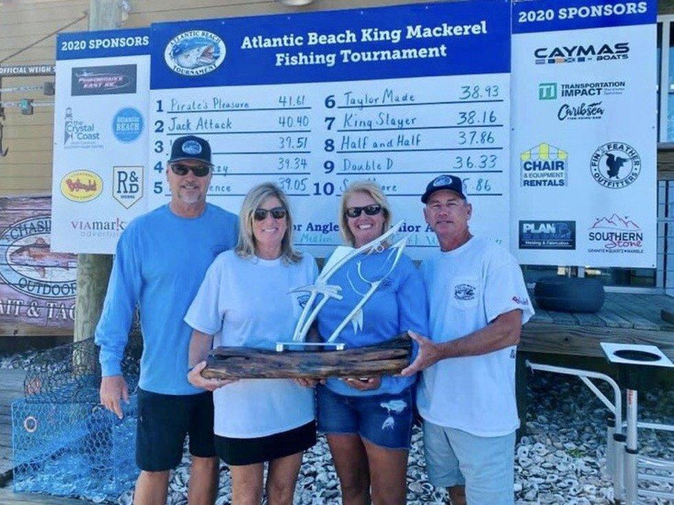2020 King Mackerel Tournament Champions