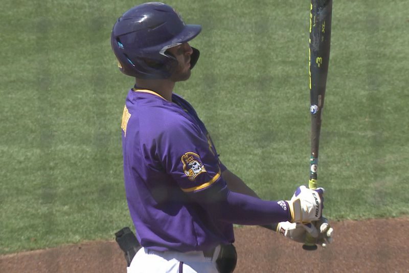 Connor Norby ECU Baseball