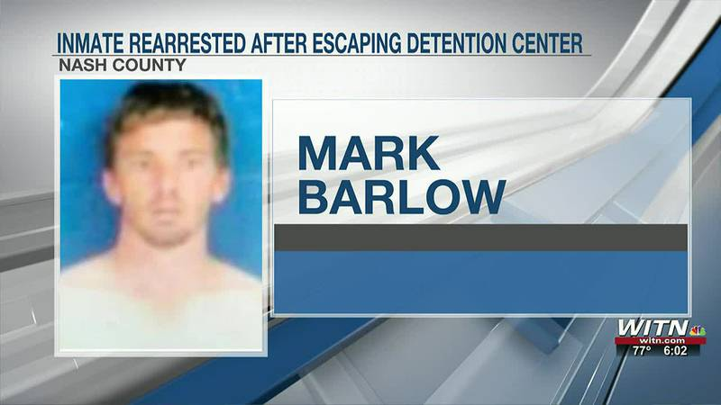 DEPUTIES: Inmate rearrested after running away, trying to hide