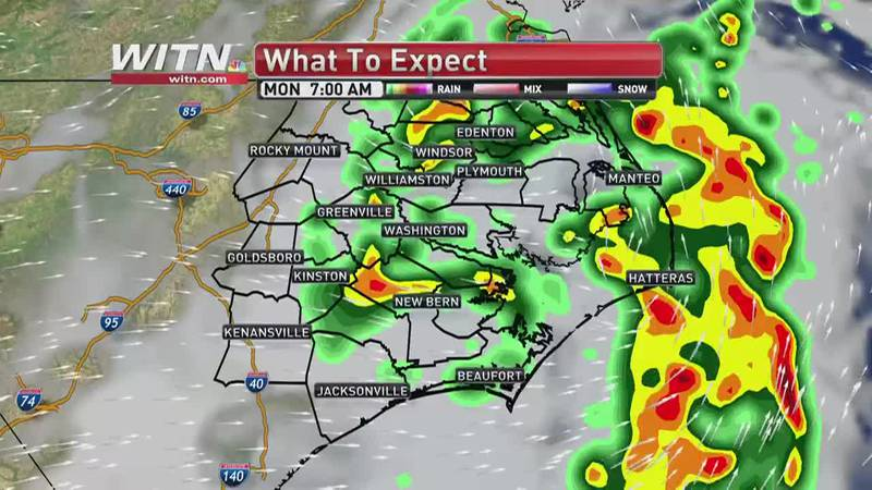 First Alert Weather Day: Claudette shows little weakening ahead of ENC arrival
