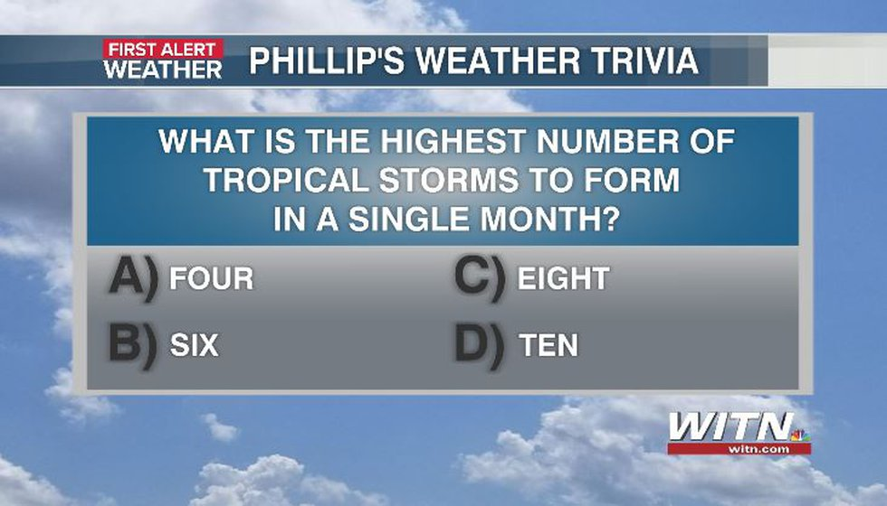 Phillip's Weather Trivia Question Aug 27