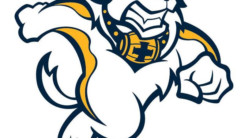 Saints new mascot.