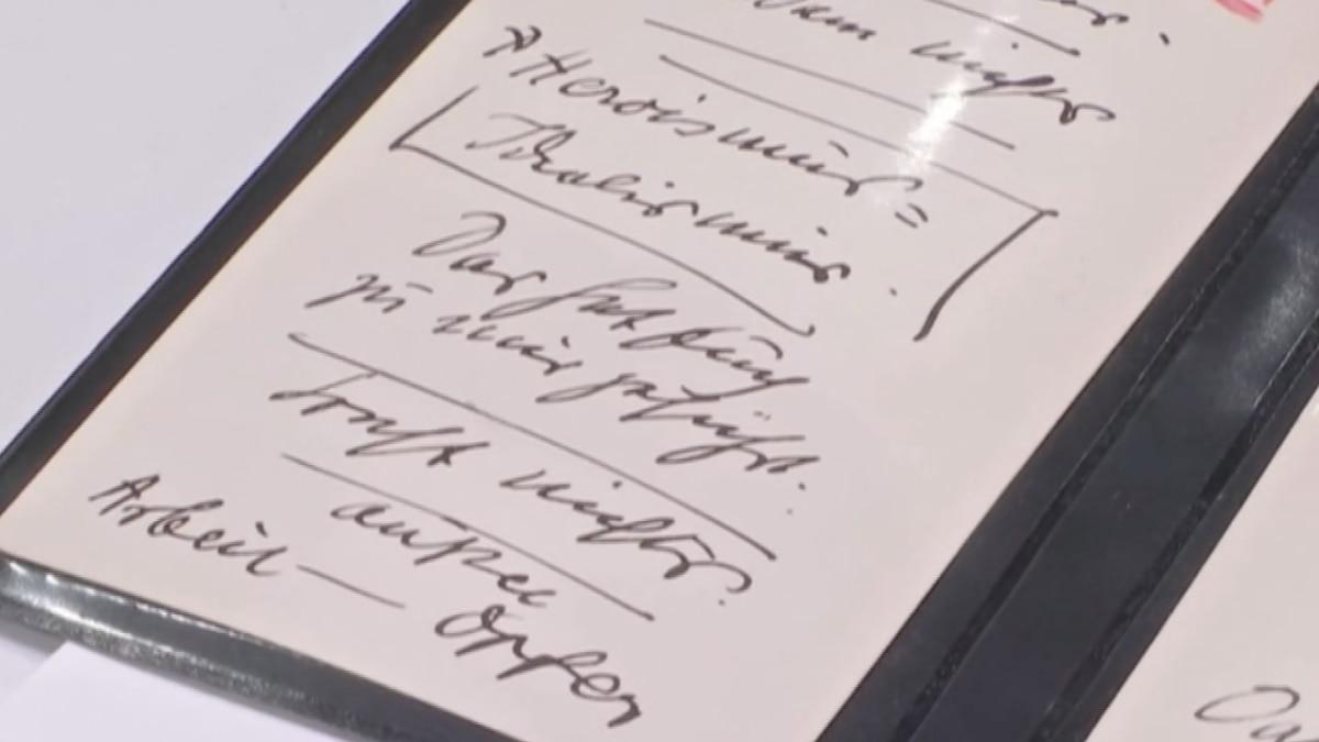 Adolf Hitler Speech Cards
