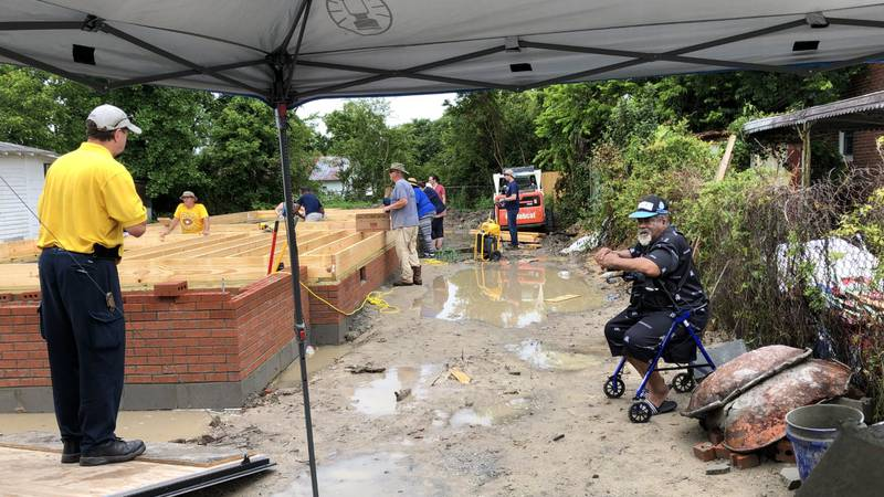 New Bern resident gets new home after damage from Hurricane Florence