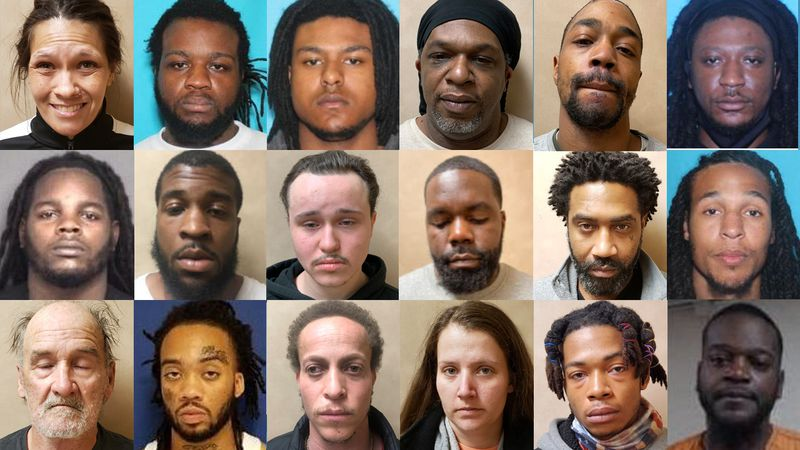 The Martin County Narcotics Unit made the busts over the past three months by conducting covert...