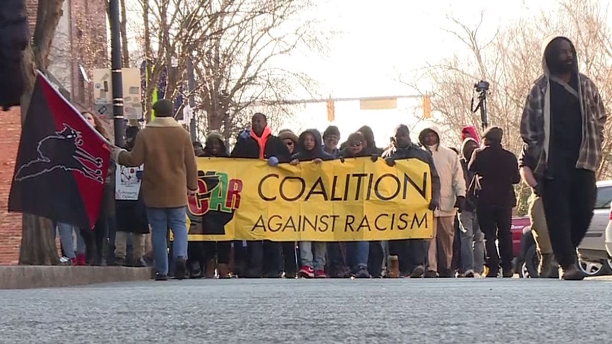 Annual MLK March & Rally in Greenville