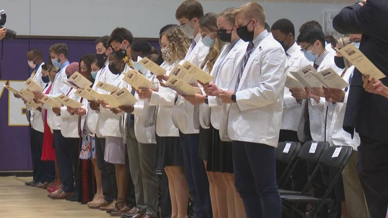 ECU's Brody School of Medicine welcomes Class of 2025.