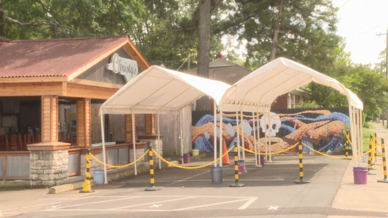 FILE: Christy's Euro Pub is one of the restaurants temporarily closed after an employee tested...