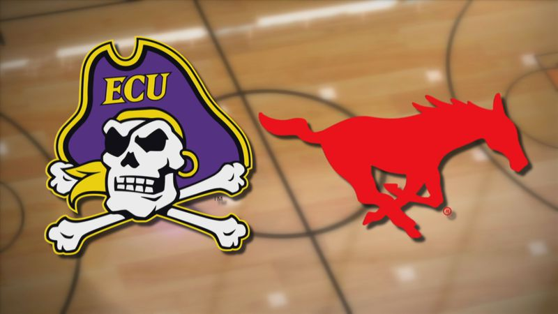 ECU Basketball at SMU