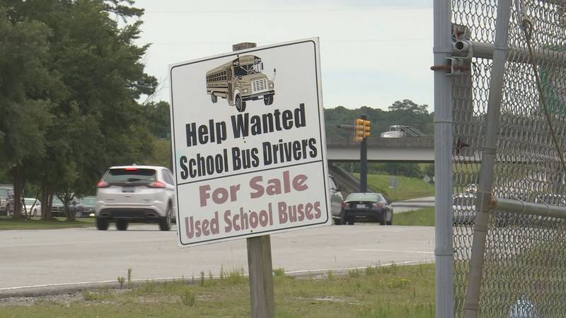 Onslow County has 43 bus driver positions to fill before the start of school.