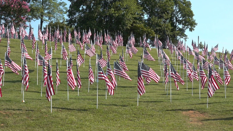 The Field of Honor will host a Saturday 9/11 ceremony.