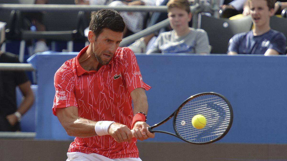 Tennis No 1 Novak Djokovic Wife Have Virus After His Exhibitions