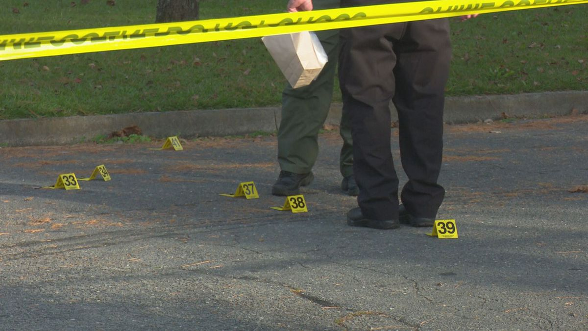 Police say the shooting happened in the 700 block of Dixon Street around 8:00 p.m.