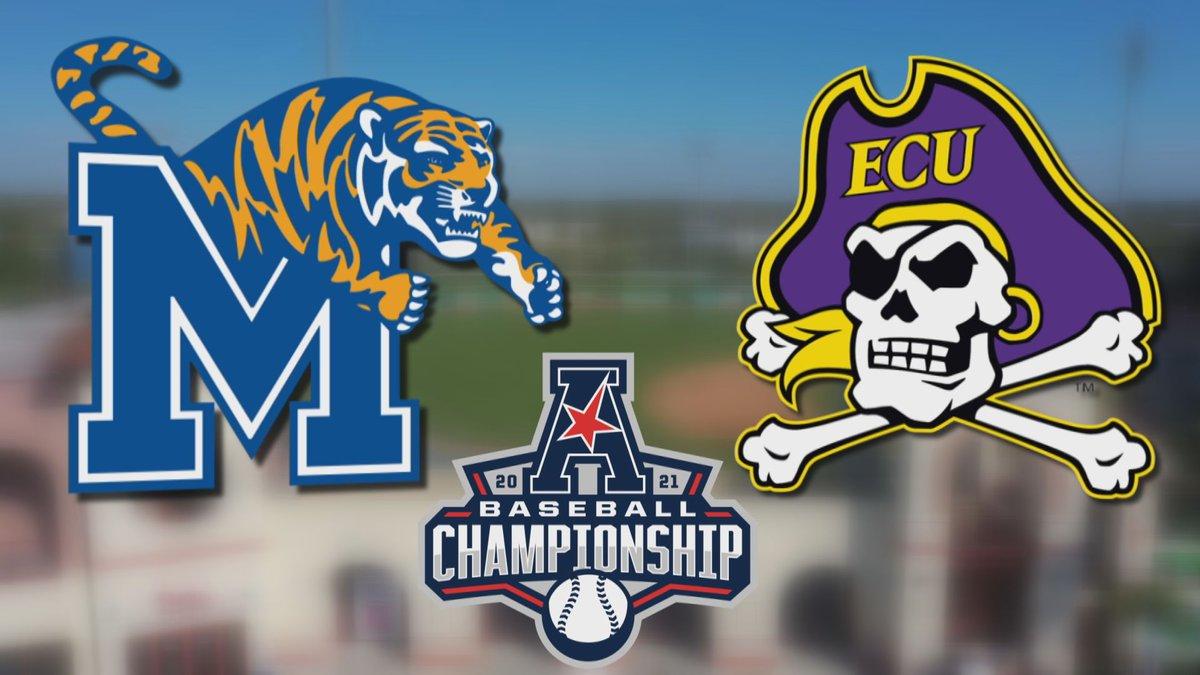 Memphis at ECU Baseball AAC Tournament 2021