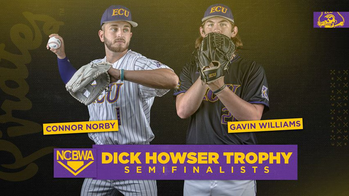 Connor Norby and Gavin WIlliams - Dick Howser Semifinalists