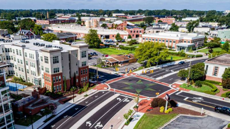 The project is a roadmap around the Uptown area connecting Greenville's cultural gems and...