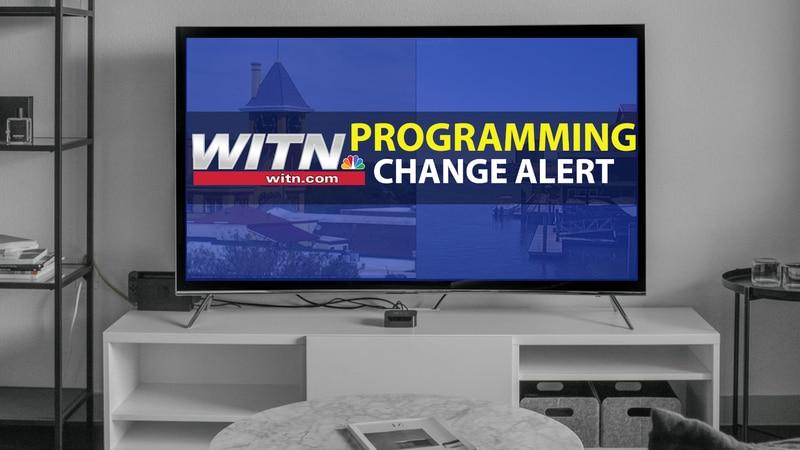 WITN Programming Change Alert