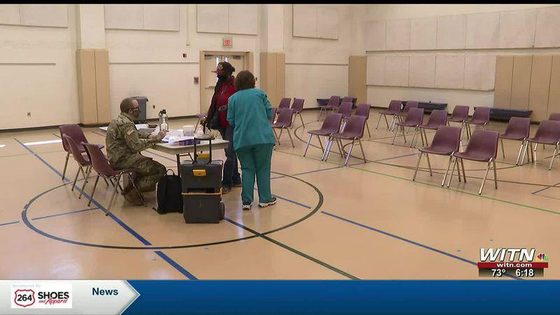 Pitt County continuing vaccination clinics