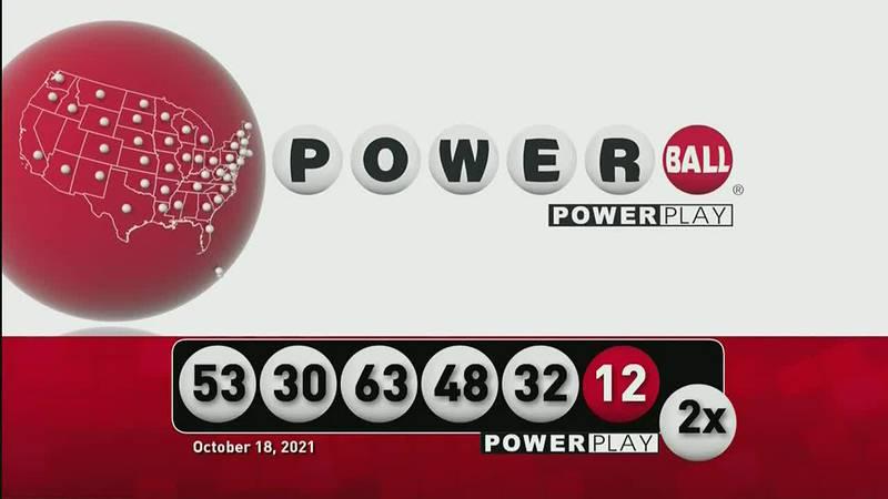 Power Ball - 10/18/21