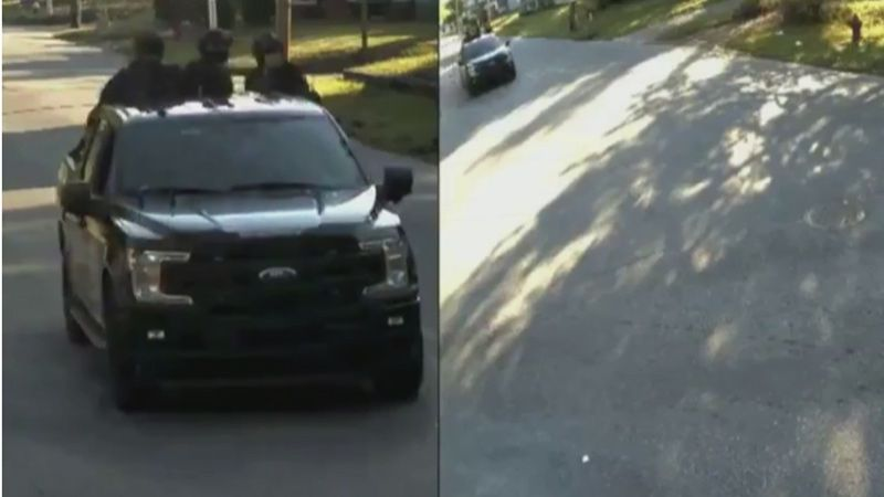 Elizabeth City police released the video Tuesday afternoon.