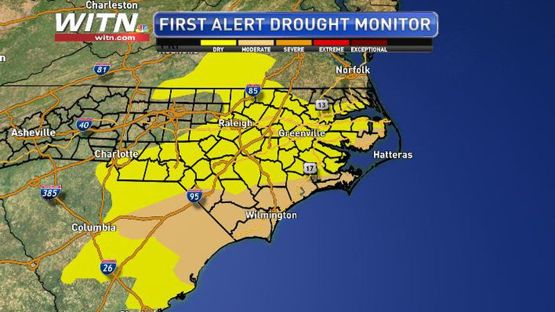 Drought Conditions in North Carolina