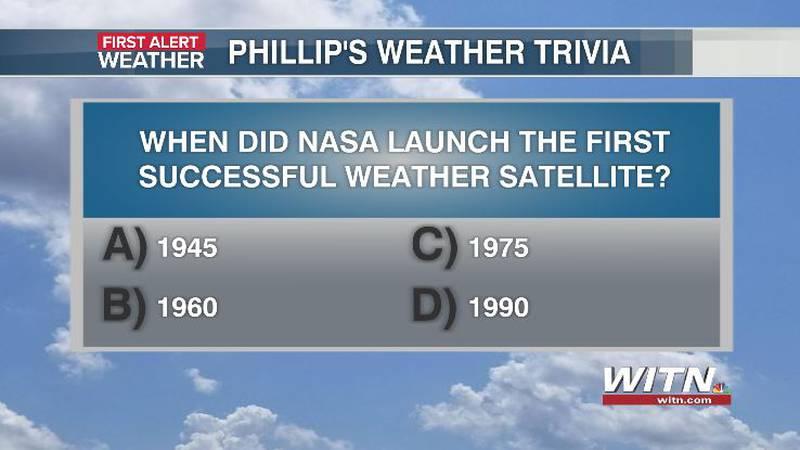 Phillip's Weather Trivia Question Sep 16