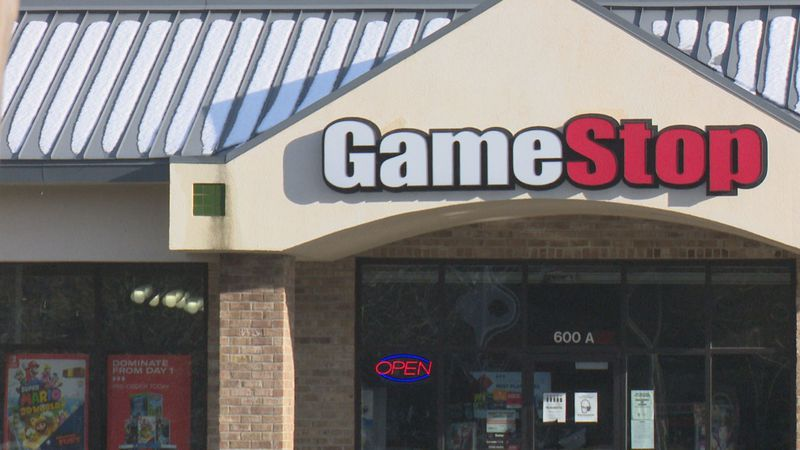 GameStop in Greenville, NC.
