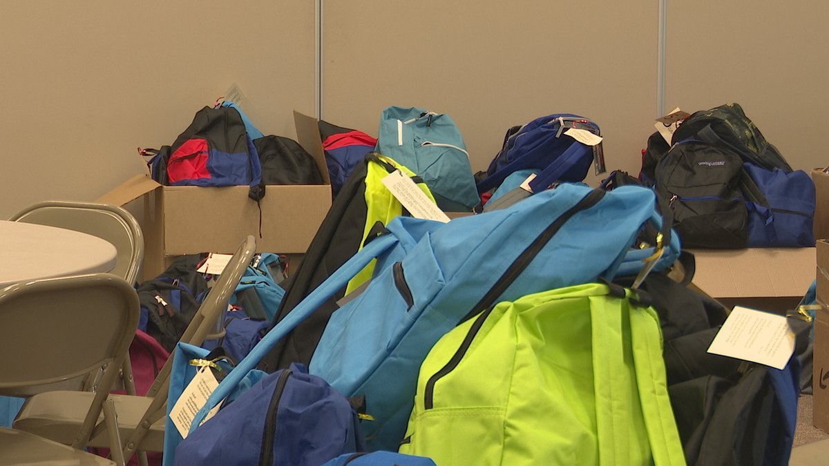 The final push to collect and pack school supplies is underway at the First United Methodist...