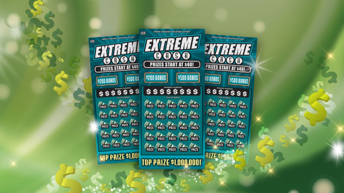 Extreme Cash lottery tickets