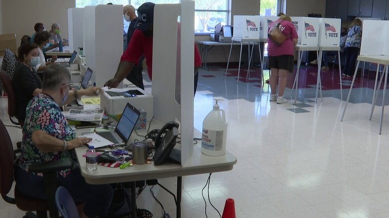 State officials say it is believed a record was set on the first day of early voting.