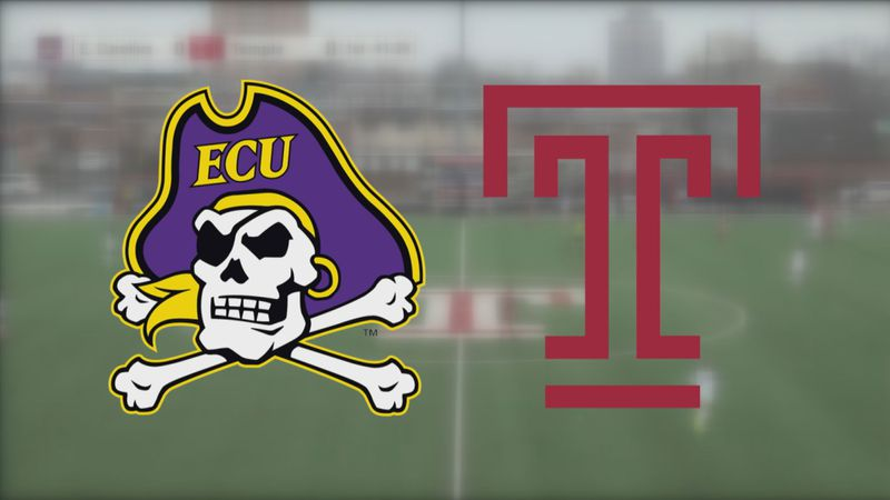 ECU women's soccer at Temple
