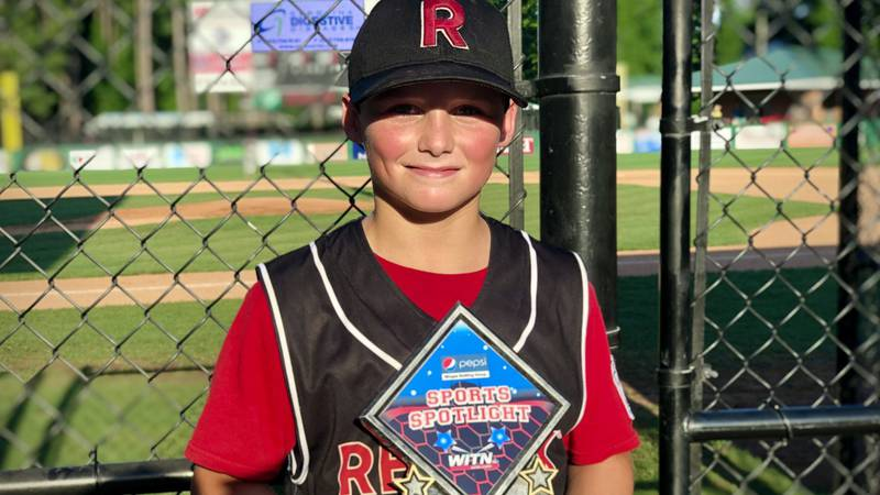 Landon Scott - REMAX Little League - WITN Sports Spotlight