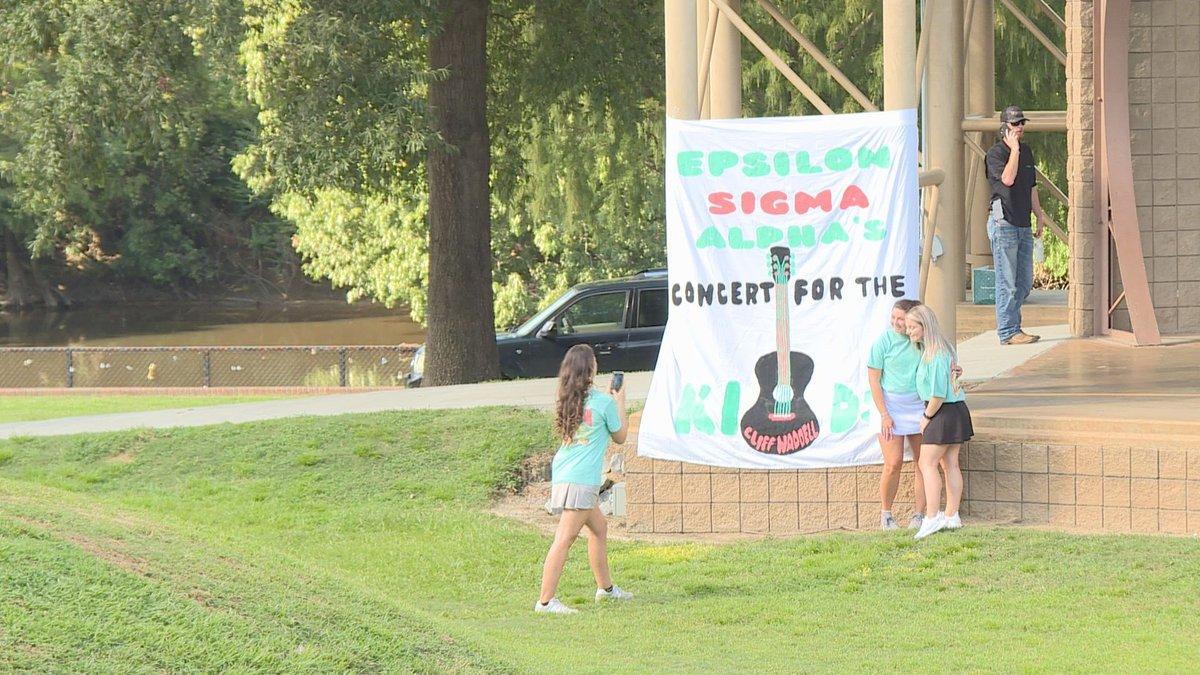 Sorority holds concert for St. Jude's.