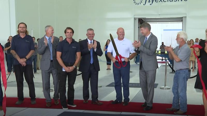 Jetstream Aviation holds ribbon cutting at new GTP facility