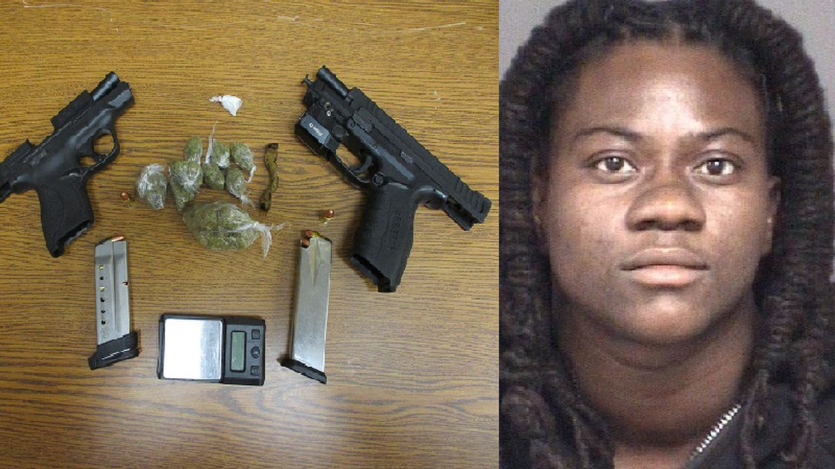 Rahkiya Davis was arrested by the Pitt County Sheriff's Office on drug charges.