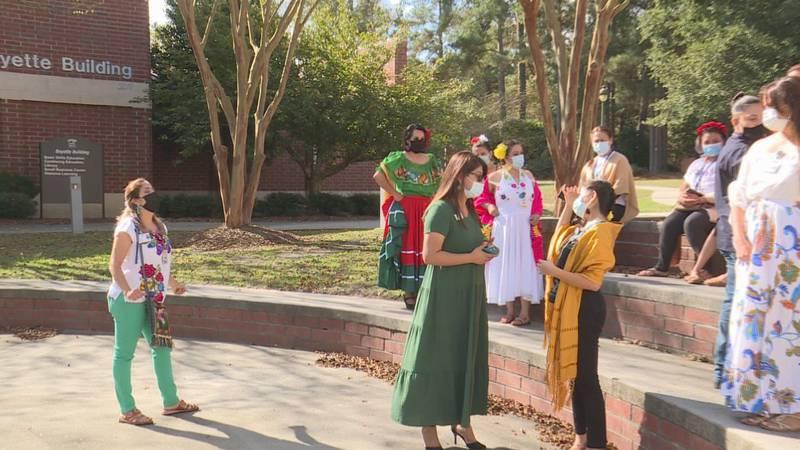 Hispanic heritage celebration at James Sprunt Community College