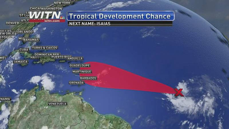 As of Sunday afternoon, Hanna has degraded to a tropical depression. The system had sustained...