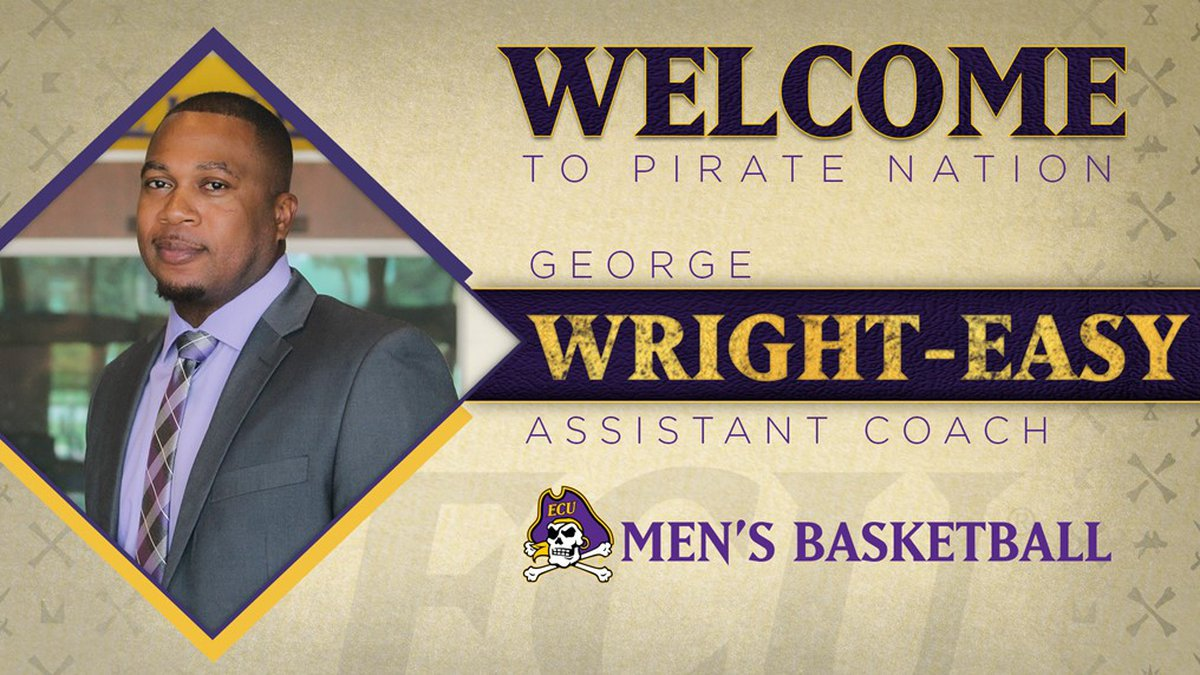 Dooley adds George Wright-Easy to ECU Men's Basketball staff